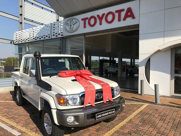 2020 Toyota Land Cruiser 70 4.5D Double cab Bakkie Gauteng Sandton_0