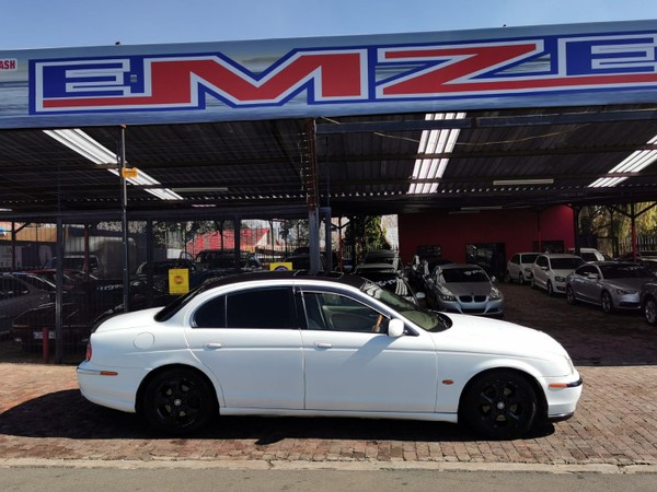 2001 Jaguar S-Type 3.0 V6 Se At  Gauteng Benoni_0
