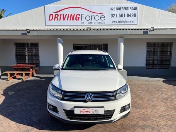 2013 Volkswagen Tiguan 1.4 Tsi Bmot Tren-fun Dsg 110kw  Western Cape Wynberg_0