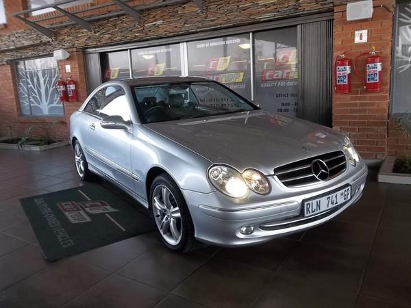 2004 Mercedes-Benz CLK-Class Clk 500 Coupe  Gauteng Boksburg_0