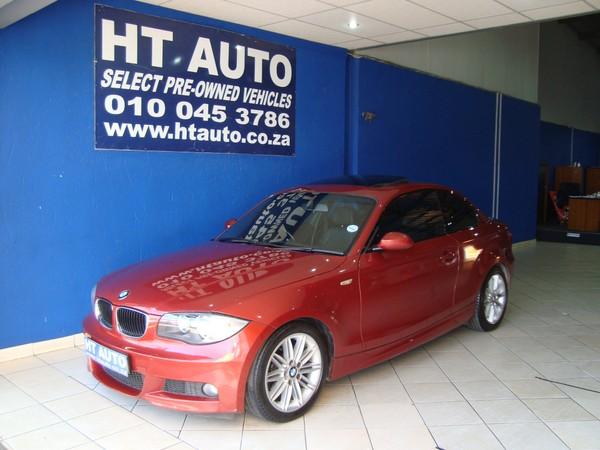 2009 BMW 1 Series 125i Coupe Sport At  Gauteng Boksburg_0