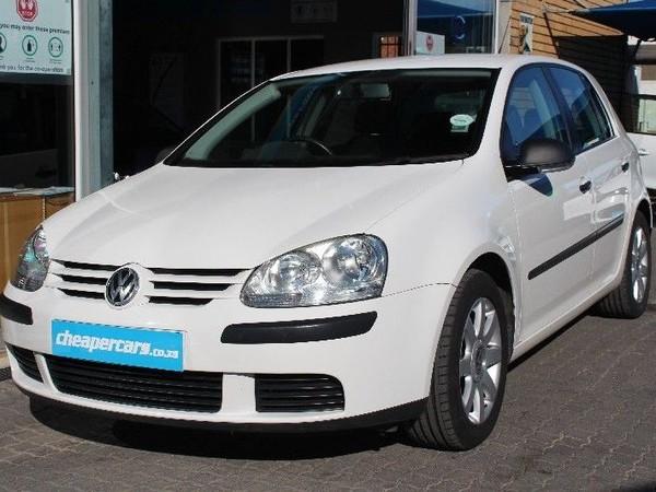 2007 Volkswagen Golf 2.0 Trendline  Western Cape Bellville_0