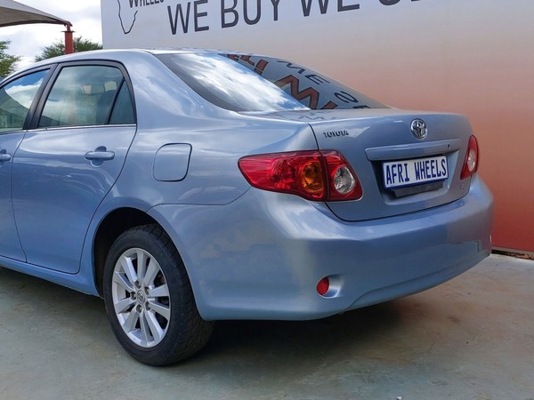 2008 Toyota Corolla 1.8 Exclusive At  Gauteng Pretoria_0