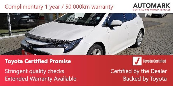 2020 Toyota Corolla 1.2T XS 5-Door Eastern Cape East London_0