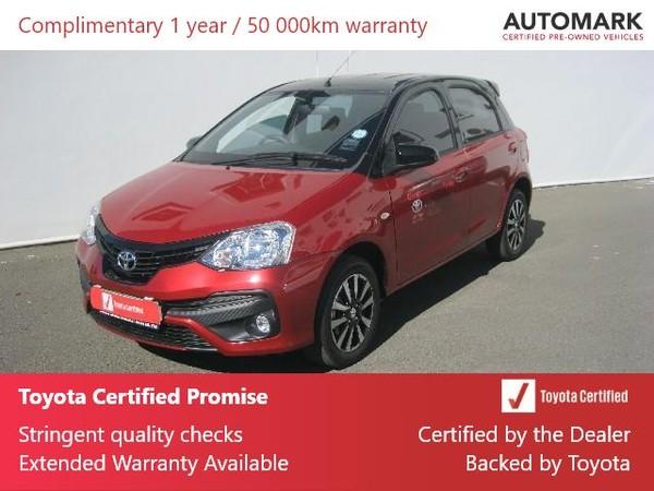 2020 Toyota Etios 1.5 Sport LTD Edition 5-Door Northern Cape Kimberley_0
