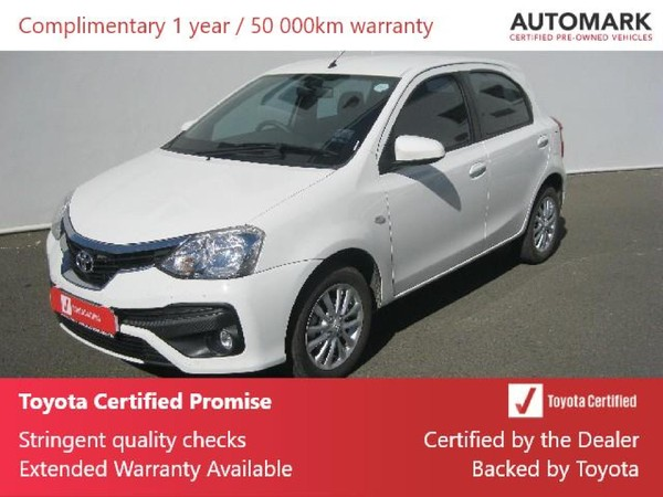 2020 Toyota Etios 1.5 Xs 5dr  Northern Cape Kimberley_0