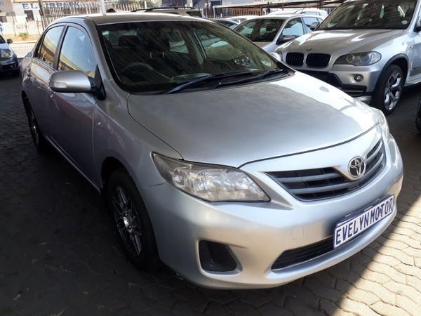 2014 Toyota Corolla 1.3 Professional  Gauteng Johannesburg_0