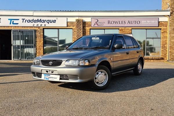 2001 Toyota Tazz 130  Gauteng Randburg_0