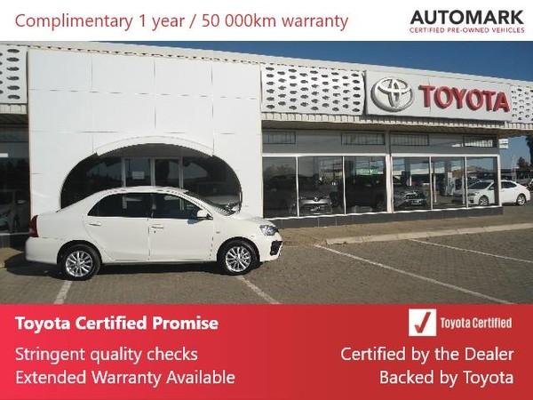 2019 Toyota Etios 1.5 Xs  Northern Cape Hartswater_0