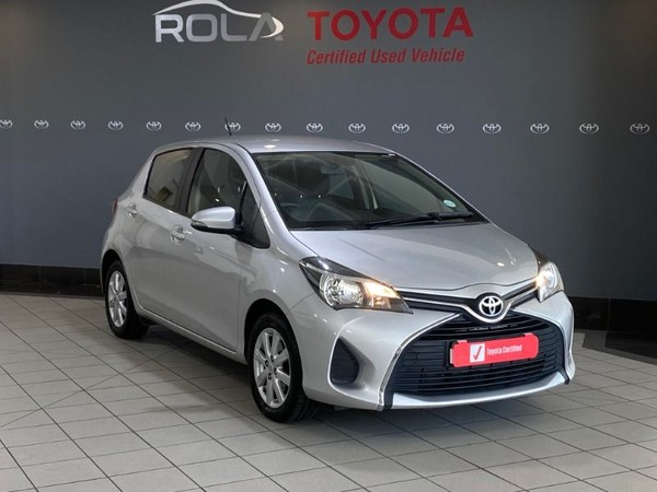 2015 Toyota Yaris 1.3 CVT 5-Door Western Cape Somerset West_0