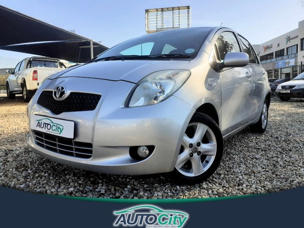 2007 Toyota Yaris T3 Spirit At  Western Cape Bellville_0