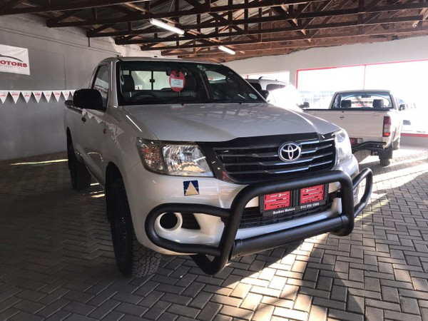 2012 Toyota Hilux 2.5 D-4d Srx Rb Pu Sc  North West Province Hartbeespoort_0