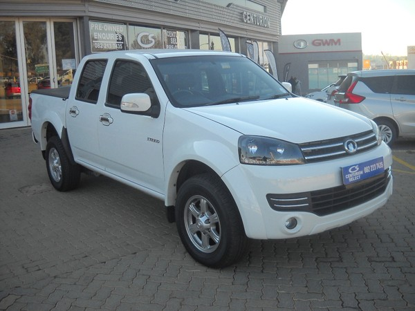 2019 GWM Steed 2.0 VGT SX DC 4x2 manual Gauteng Centurion_0