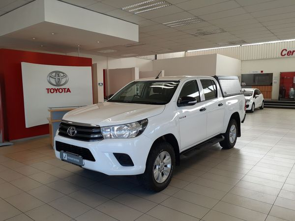 2017 Toyota Hilux 2.4 GD-6 SRX 4x4 Double Cab Bakkie Free State Ficksburg_0