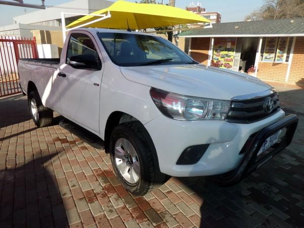 2017 Toyota Hilux 2.4 GD-6 RB SRX Single Cab Bakkie Gauteng Bramley_0