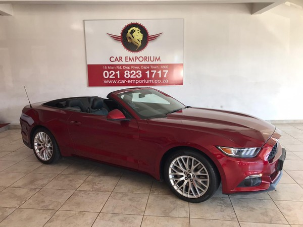 2016 Ford Mustang 2.3 Ecoboost Convertible Auto Western Cape Diep River_0