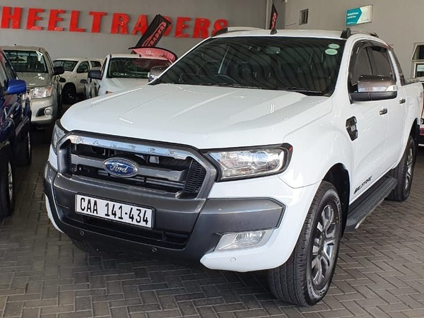 2016 Ford Ranger 3.2TDCi 3.2 WILDTRAK 4X4 Auto Double Cab Bakkie Western Cape Parow_0