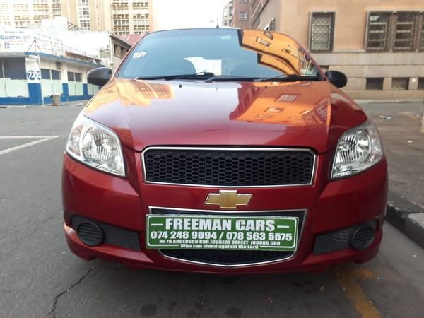 2008 Chevrolet Aveo 1.6 Ls  Gauteng Johannesburg_0