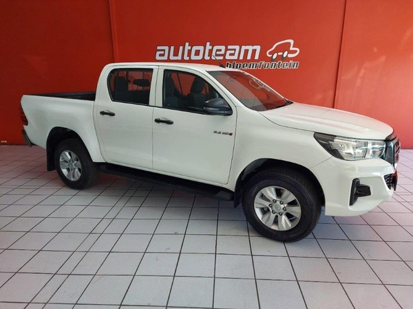 2019 Toyota Hilux 2.4 GD-6 SRX 4X4 Auto Double Cab Bakkie Free State Bloemfontein_0