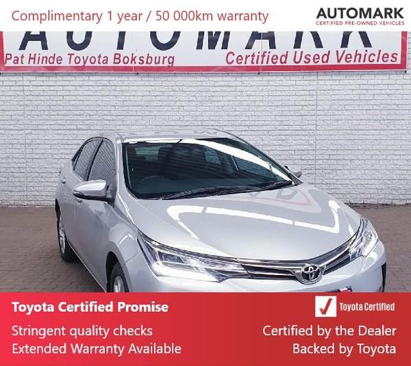 2019 Toyota Corolla 1.8 Exclusive Gauteng Boksburg_0