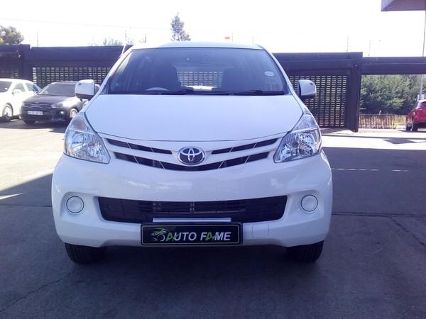 2013 Toyota Avanza 1.5 Sx At  Gauteng Johannesburg_0