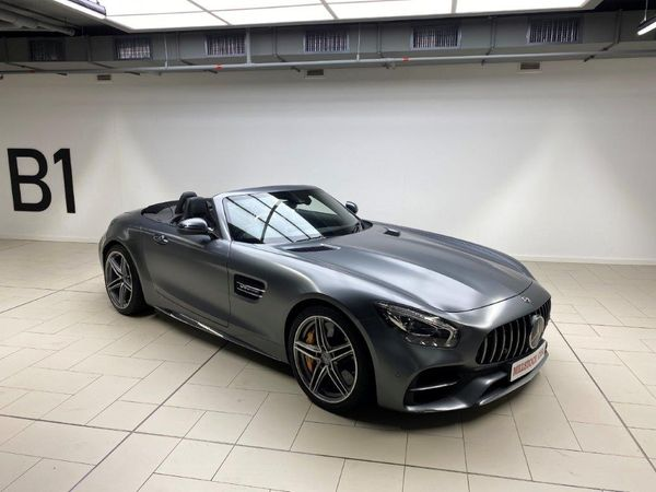 2017 Mercedes-Benz AMG GT AMG GT C 4.0 V8 Roadster Western Cape Cape Town_0