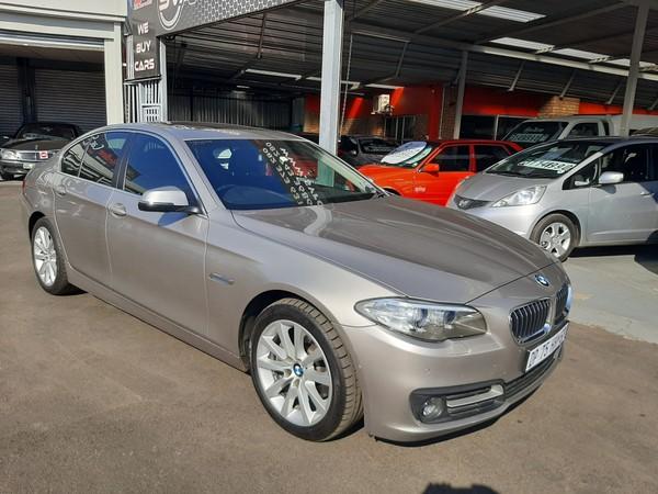 2015 BMW 5 Series 520i Auto Luxury Line Gauteng Boksburg_0