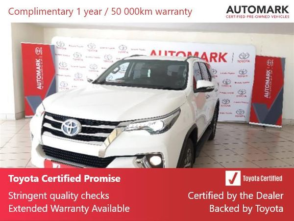 2017 Toyota Fortuner 2.8GD-6 4X4 Auto Mpumalanga Ermelo_0