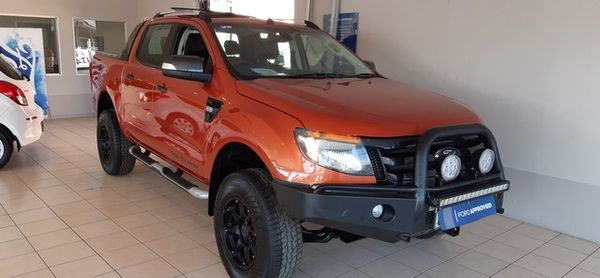 2013 Ford Ranger 3.2TDCi Wildtrak 4x4 Auto Double cab bakkie Northern Cape Kimberley_0