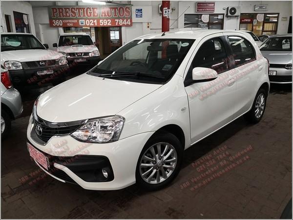 2018 Toyota Etios 1.5 Xs 5dr  Western Cape Goodwood_0