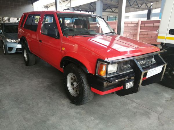 1991 Nissan Sani V6 3.0 4x4 Patrol 3d Pu Sc  Gauteng Johannesburg_0