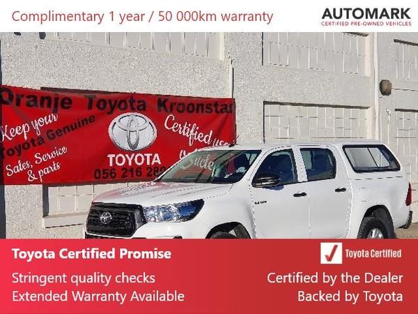 2019 Toyota Hilux 2.4 GD-6 SRX 4X4 Auto Double Cab Bakkie Free State Kroonstad_0