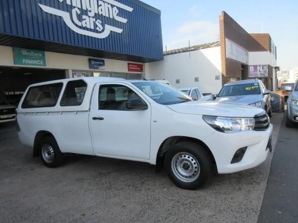2018 Toyota Hilux 2.0 VVTi AC Single Cab Bakkie Kwazulu Natal Durban_0