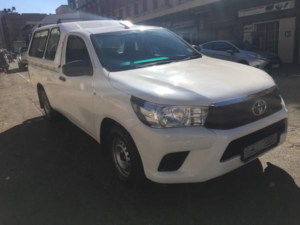 2017 Toyota Hilux 2.4 GD AC Single Cab Bakkie Gauteng Johannesburg_0
