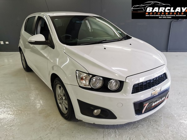 2013 Chevrolet Sonic 2013 Chev Sonic 1.6 Hatchback for Only -R1799pm Western Cape Goodwood_0