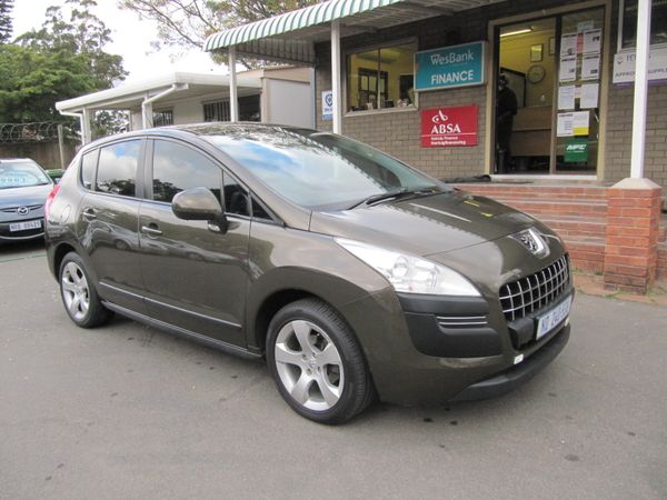 2010 Peugeot 3008 1.6 Vti Comfortactive  Kwazulu Natal Pinetown_0