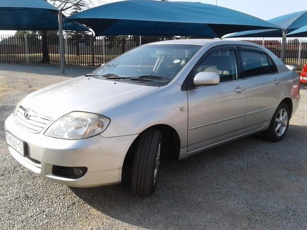 2005 Toyota Corolla 180i Gsx At  Gauteng Roodepoort_0