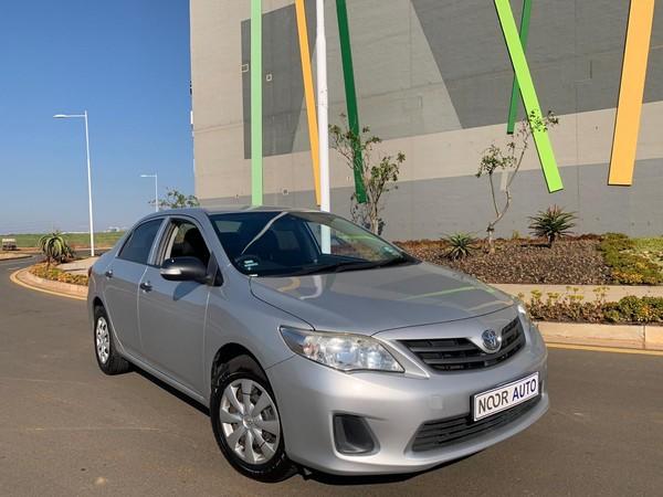 2013 Toyota Corolla 1.3 Professional  Kwazulu Natal Umhlanga Rocks_0