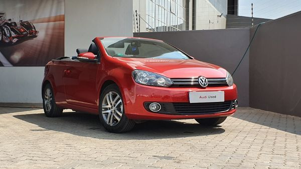 2014 Volkswagen Golf Vi 1.4 Tsi Cabrio Cline  Gauteng Johannesburg_0
