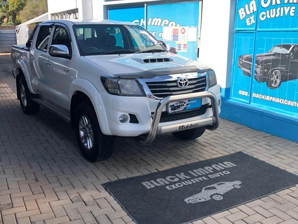 2011 Toyota Hilux 3.0d-4d Raider Rb At Pu Dc  Gauteng Pretoria North_0