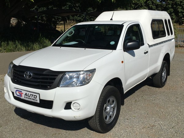 2015 Toyota Hilux 2.5 D-4d Srx Rb Pu Sc  Mpumalanga White River_0