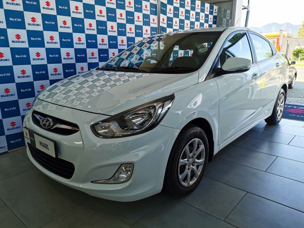 2015 Hyundai Accent 1.6 Gls At  Western Cape Paarl_0