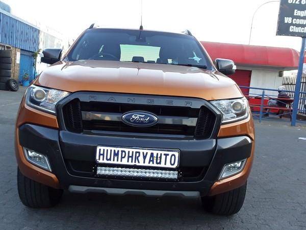 2016 Ford Ranger 3.2tdci Xlt 4x4 At Pu Dc  Gauteng Johannesburg_0