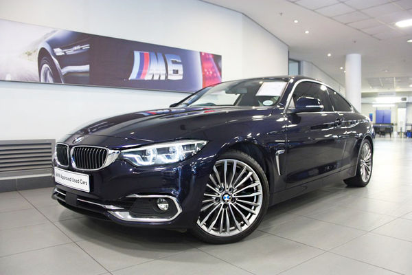 2018 BMW 4 Series 440i Coupe Luxury Line Auto Gauteng Four Ways_0