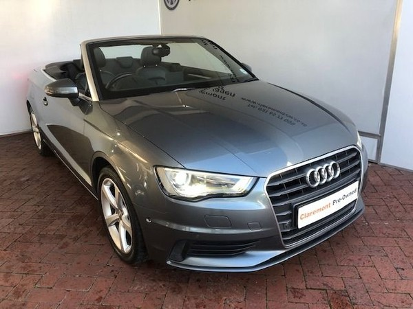 2014 Audi A3 1.4T FSI S Stronic Cabriolet Western Cape Claremont_0