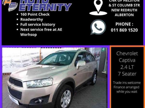 2012 Chevrolet Captiva 2.4 Lt  Gauteng Alberton_0