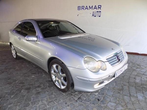 2002 Mercedes-Benz C-Class C 230k Coupe At  Gauteng Boksburg_0