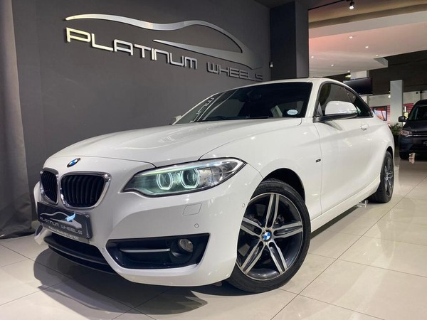 2014 BMW 2 Series 220i Sport Line Auto Gauteng Four Ways_0