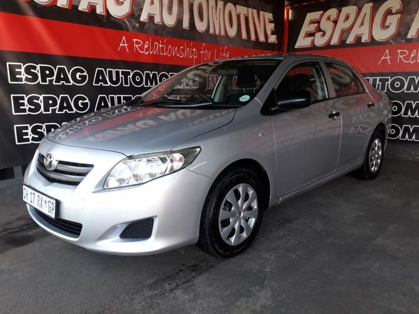 2010 Toyota Corolla 1.3 Professional  Gauteng Pretoria_0