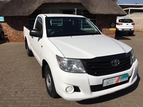 2014 Toyota Hilux 2.0 Vvti S Pu Sc  Gauteng Centurion_0